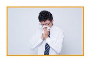 インフル花粉症 症状