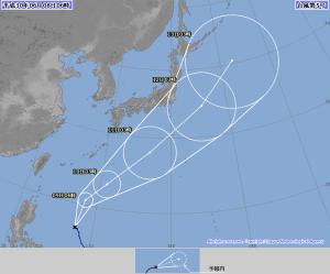 台風5号 2018 気象庁