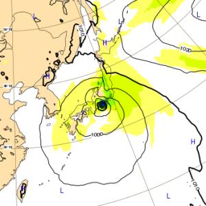 台風12号 2018 ヨーロッパ 28日