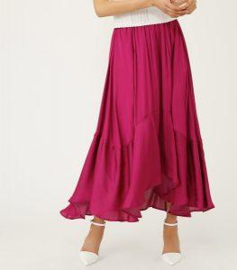 高嶺の花 6話 衣装 スカート