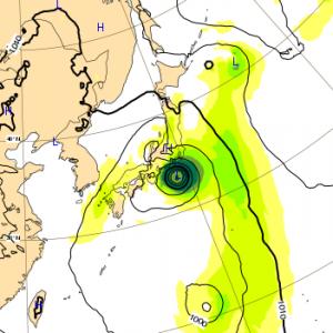 台風13号 2018 ヨーロッパ 8日