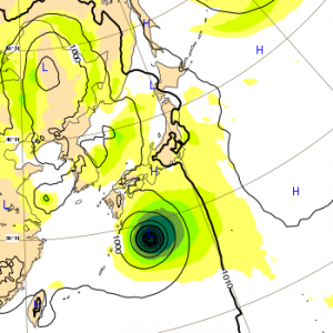 台風21号 2018 ヨーロッパ 3日