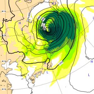 台風24号 2018 ヨーロッパ 1日