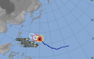 台風2号 2019 気象庁